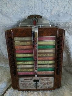56 Best Seeburg Wallbox JukeBox images in 2019 | Jukebox