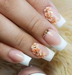 The advantage of the gel is that it allows you to enjoy your French manicure for a long time. There are four different ways to make a French manicure on gel nails. Frensh Nails, Pink Nails, Acrylic Nails, Manicure, Matte Pink, Pastel Nails, Blush Pink, Black Nails, Stiletto Nails
