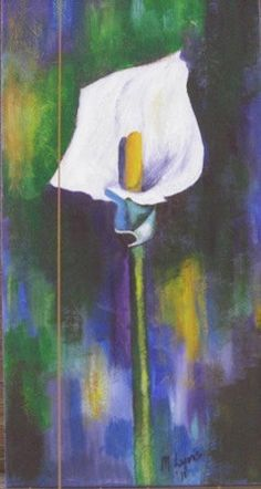 Arum Lily by MaReesArtStudio on Etsy, $50.00
