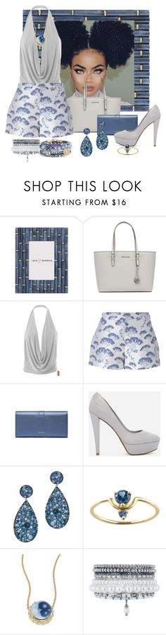 """""""Untitled #3114"""" by quitabaity ❤ liked on Polyvore featuring MICHAEL Michael Kors, Giambattista Valli, CHARLES & KEITH, Jacquie Aiche and Monsoon"""