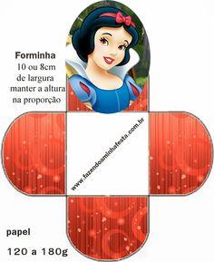 Impresión gratuita Cajas abiertas para Disney Princess Party.