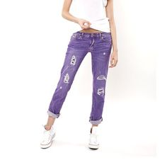 I love colored denim and I love this website!  Straight Leg Purple Rain now featured on Fab.
