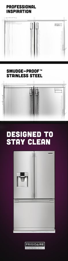 The New Frigidaire Professional Appliance Collection Was Designed With  Smudge Proof Stainless Steel To Resist