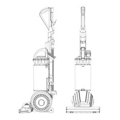 It took 70 Dyson engineers and three years to design DC41 Animal. #RelentlessInvention