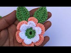 Tığ işi çiçek yapımı patik süslemeleri crochet rose patik süsü Gül yapımı - YouTube Glitter Hair, Crochet For Beginners, Crochet Flowers, Flower Decorations, Hair Bows, Diy And Crafts, Crochet Earrings, Applique, Hair Clips