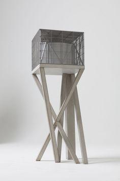Bureau vers plus de bien-être / V+, Maxime Delvaux · Water Tower