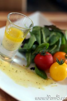 Vinagrete Francês (Molho de salada com mostarda dijon)
