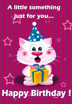 #Birthday #Card Free Printable - A little something just for you.