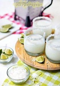 {July Guest Blogger} BethCakes- Coconut Margaritas