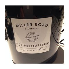 """The Arctic Monkeys had this """"fig"""" Miller Road Candle in their dressing room via Arctic Monkeys, Dressing Room, Fig, Fragrance, Candles, Bottle, Instagram, Walk In Closet, Changing Room"""