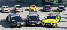 Audi Motorsport Blog: DTM: Audi championship winning cars at the Essen Motor Show
