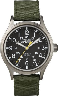 best looking budget watch: Timex mens T49961 expedition Scout Green