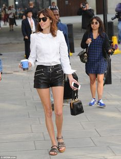 Coffee Run: Alexa needed a pick me up before going on Nick Grimshaw's Radio 1 breakfast show