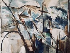 """Wind on the Lake 30x40"""" Oil on Canvas by Pamela Holl Hunt Oil On Canvas, Paintings, Abstract, Artwork, Summary, Work Of Art, Paint, Auguste Rodin Artwork, Painting Art"""