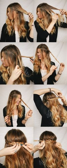 spring hairstyle
