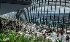 Buy tickets for Morning Coffee/Tea & Pastry Offer at Sky Garden Bars London. Tickets and information for Morning Coffee/Tea & Pastry Offer This event has taken place. in London. Covent Garden, Phuket, London Summer, London 2016, London Instagram, Sky Garden, Garden Bar, Garden Wedding, Garden Ideas