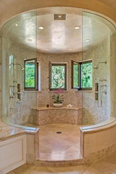 21 Bathroom Remodel Ideas [The Latest Modern Design] Closet bathroom design ideas. Every bathroom remodel begins with a layout idea. From full master bathroom renovations, smaller guest bath remodels, as well as bathroom remodels of all dimensions. Dream Bathrooms, Dream Rooms, Beautiful Bathrooms, Master Bathrooms, Master Baths, Bathroom Small, Mansion Bathrooms, Glass Bathroom, Bathrooms Suites