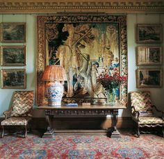 Edinburgh | Interior Design | Robert Kime | Uniquely Among Decorators | Eminence In The Profession Via Antique Dealing
