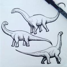 Snow outside, I better draw! dinosaur dotwork tattoo design #dinoflash #dinosaurtattoo #dinosaur #tattooflash #dotwork #dinos #dinoparty
