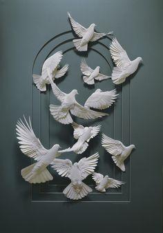 Calvin Nicholls Paper // Follett Library Resources - Hummingbird on Behance