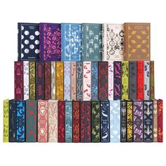 The Penguin Classics series makes an absolutely stunning collectionyou will love to look at as much as read. Each hardcovervolume is bound in linen and f
