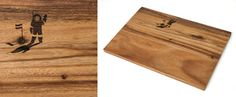 Wood grain = landscape. Supersmart.