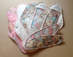 Night & Day Starter Kit in Parisienne Cloth menstrual pads and panty liners Fabric Crafts, Sewing Crafts, Sewing Projects, Sewing Basics, Sewing Hacks, Charity Activities, Period Pads, Mama Cloth, Menstrual Pads