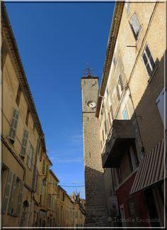 La Cadière d'Azur sous un ciel tout bleu... Provence !    http://mistoulinetmistouline.eklablog.com/
