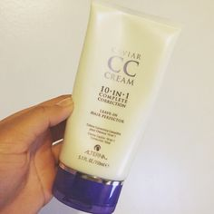 Cc cream 10 in 1 leave in cream from Alterna. This product is my absolute favorite for my hair. Check out my blog for more. #haircare #caviar #alterna #cccream #wellness #beauty #curlyhair #beauty #nyc #productjunkie #bloggerlove #favoritehairproduct #beauties #alternahaircare #naturalhair #haircolor