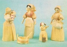 Corn Husk Dolls, want to make, some day