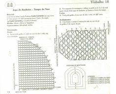 Artes by Cachopa - Croche & Trico: Jogo de banheiro
