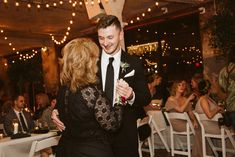 Mother & son dance during wedding reception in Kansas City Photo by: The Bold Americana Wedding Reception Photography, Wedding Venues, Mother Son Dance, Kansas City Wedding, Reception Party, Tie The Knots, Call Me, Wedding Details, City Photo