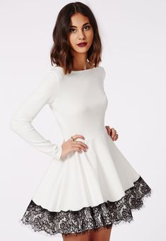 $11.76 Dress in black and white.