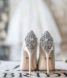 Such an incredible shot of our Kiara heels by Badgley Mischka.  Photo credit, the extremely talented @theparisphotographer. _ #bridalshoes #bride #wedding #fashion #weddingparty #bridesmaids #engaged #weddingdress #weddingshoe #weddinggown #instabride #ido #bridetobe #weddedwonderland #bridesjournal #modernwedding #brides_style #badgleymischka