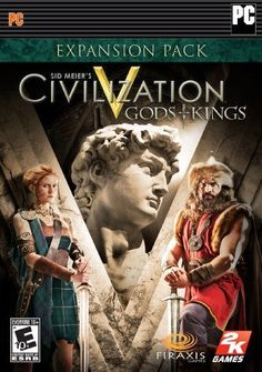 Sid Meier's Civilization V: Gods and Kings by 2K Games.$29.99.Sid Meier's Civilization V: Gods and Kings is the first official expansion pack for the Turn-Based Strategy game, Sid Meier's Civilization V.* It features the introduction of religion as a major gameplay component to the game, through a faith-based mechanism. It also adds additional diplomatic abilities to those found in the base game. Additional features include, a variety of benefit types for the establishment.