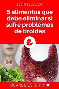 Tiroides alimentos | 5 alimentos que debe eliminar si sufre problemas de tiroides y ¿Por qué?