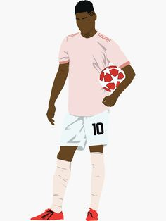 Marcus Rashford Sticker on Redbubble Manchester United Wallpapers Iphone, Uk Board, Manchester United Team, Trill Art, Marcus Rashford, Football Art, Football Wallpaper, Football Pictures, 2pac