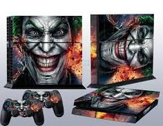 The joker is my favourite villain and playstation is my favourite thing OMG!!!! My luck!!