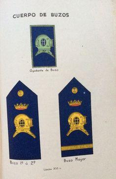 Emblemas de Buzo de la Marina Española