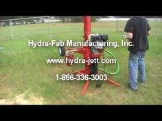 Water Well Drilling BoreMaster ZX-1000 Drill Rig - YouTube