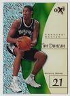 For Sale  - 1997 Skybox eX 2001 TIM DUNCAN ROOKIE CARD RC LEBRON JAMES SAN ANTONIO SPURS - http://sprtz.us/SpursEBay