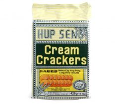 Hup Seng Cream Crackers 400g at Rs.125 Only!
