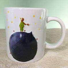 The Little Prince French Animated Movie 20 oz Embossed Coffee Mug Cup 2015 Kids Cartoon Characters, Cartoon Kids, The Little Prince French, Coffee Time, Coffee Mugs, Movie 20, Mug Cup, Animation, Film