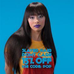 100% human hair, mac