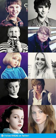 Kids from Charlie and the Chocolate Factory now whoa look at Augustus
