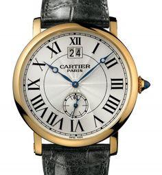 Cartier   Rotonde de Cartier watch   Red Gold   Watch database watchtime.com