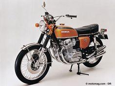 Honda 750 four que de bons souvenirs
