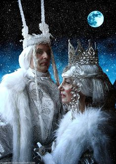 """My entry for """"Snow Day""""-Contest of Credits to for """"Ice King And Queen Stock 2"""" for """"Winter"""" for """"Snow Drops For PS"""" Thanks a lot for sharing beautiful stock! 11 layers, 4 adjustment layers, 2 layer..."""
