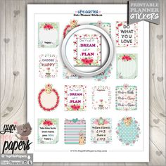 Life Planner Stickers by www.YupiYeiPapers.Etsy.com