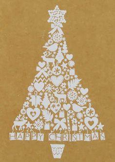 print & pattern   christmas tree